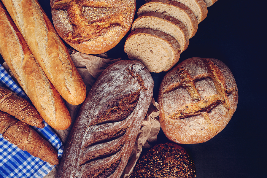 Freshly Made Baguette, Bread And Pastries.freshly Made Baguette,