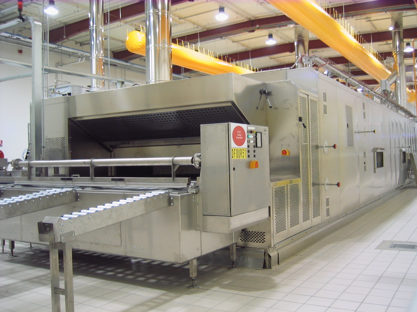 Industrial Bakery Line Cyclothermic Oven3