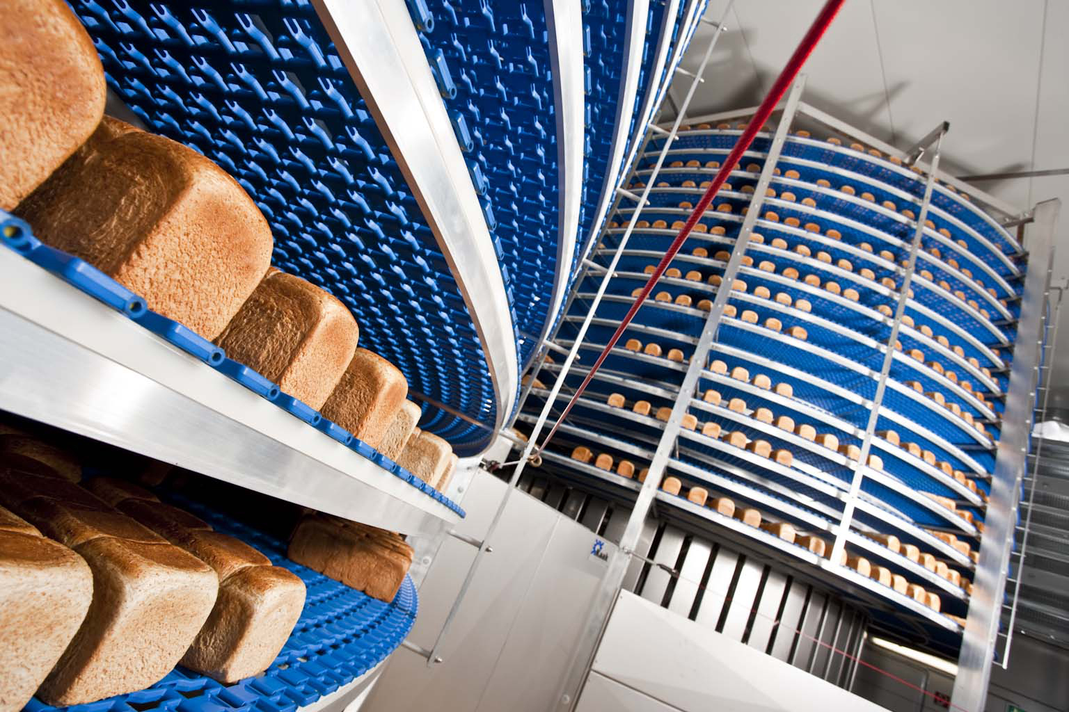 Spiral-Processing-Bread-Production